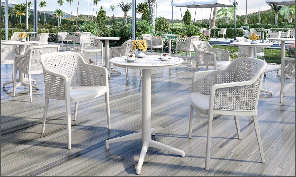 Καρέκλες εστιατορίου Cafe