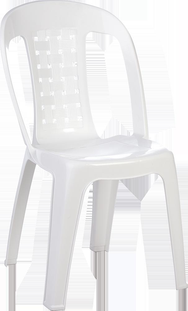 Στοιβαζόμενη πλαστική καρέκλα Siesta Estella Λευκή
