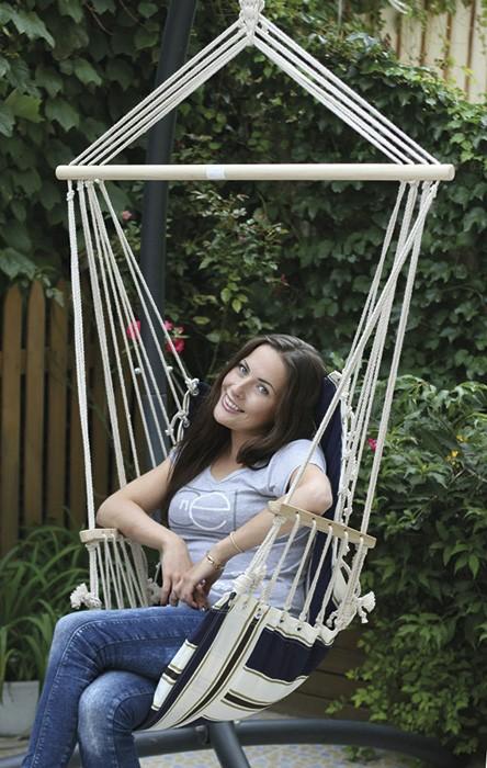 Αιώρα καρέκλα με μαξιλάρι 12331