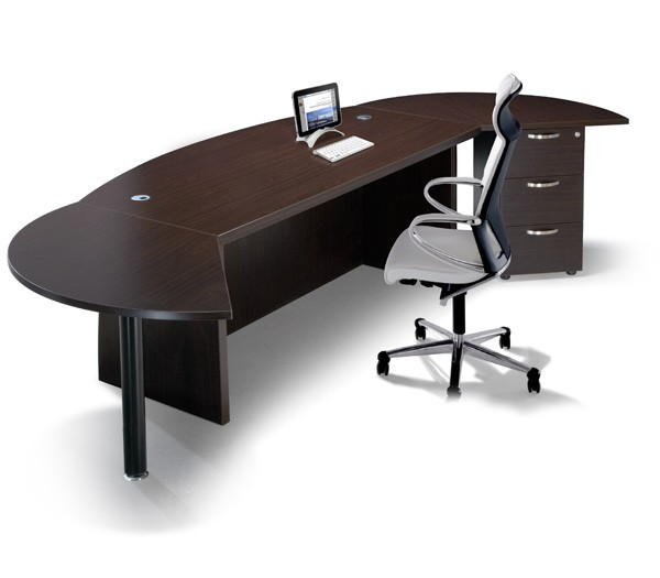 Διευθυντικό γραφείο με συρταριέρα Q-series Executive Set QX1800 Wenge