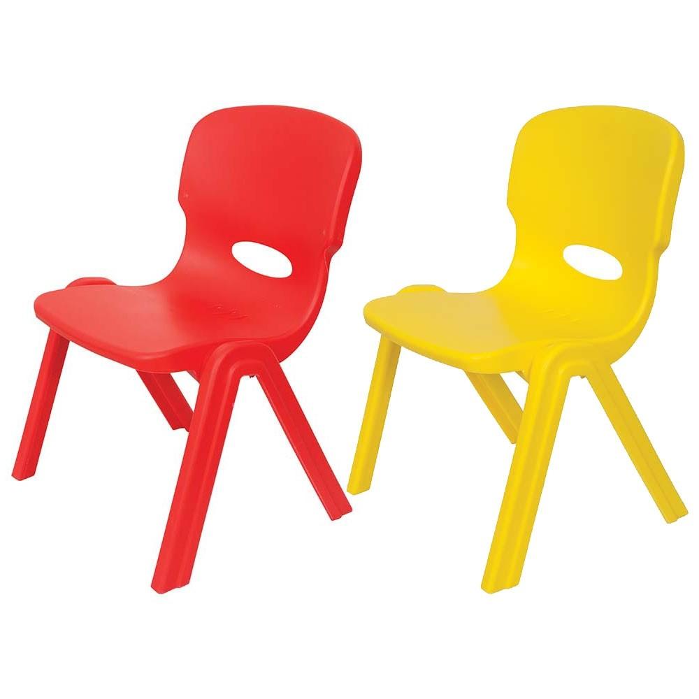 Παιδικό καρεκλάκι πλαστικό σε 2 χρώματα