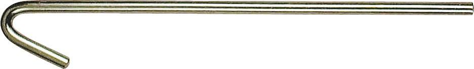 Πάσσαλοι σκηνής καρφιά με άγκιστρο μήκος 18cm