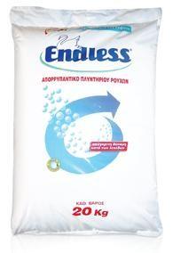 Σκόνη πλυντηρίου ρούχων Endless με κόκκους 20kg