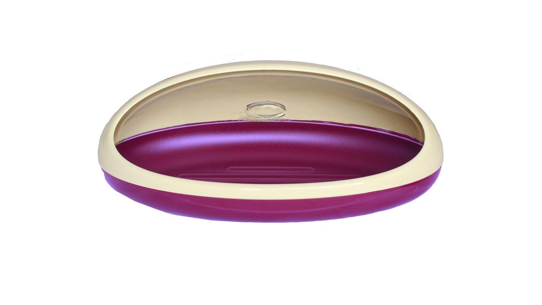 Πλαστική ψωμιέρα VioletHome Μωβ