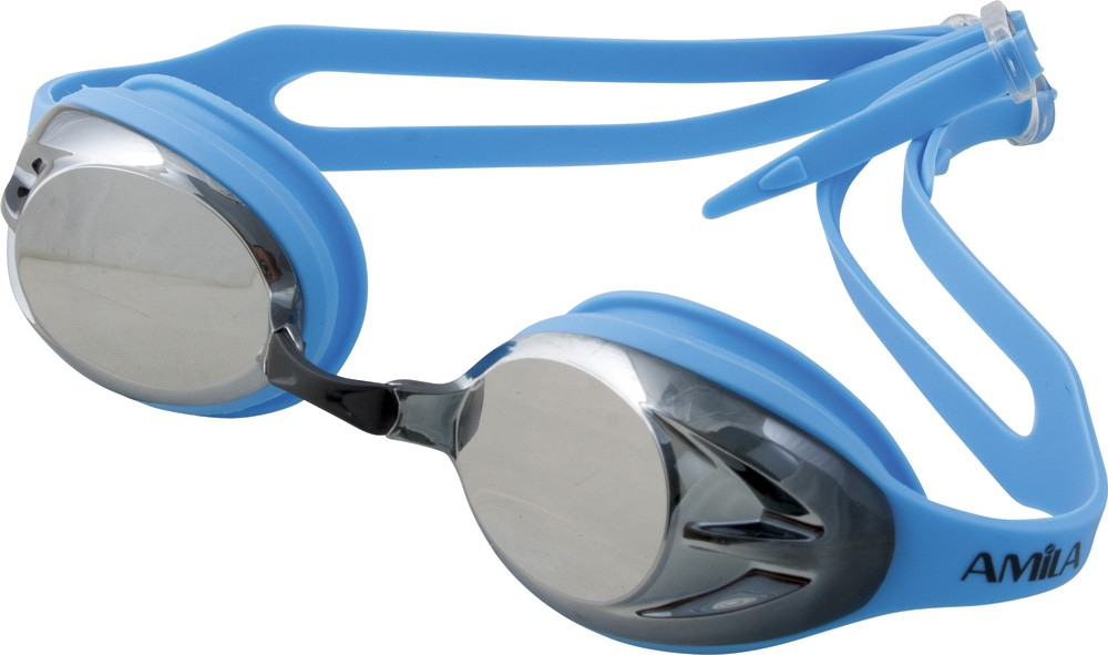 Γυαλάκια πισίνας Amila N3-AF Μπλε