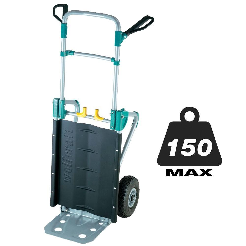 Καρότσι μεταφοράς φορτίων αναδιπλούμενο Wolfcraft TS1000 150kg Max