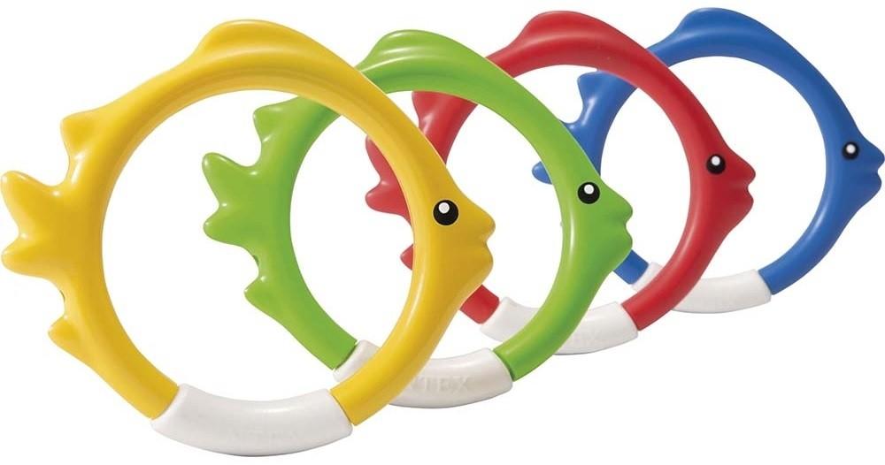 Παιχνίδι πισίνας - Δαχτυλίδια βυθού Intex Underwater Fish Rings
