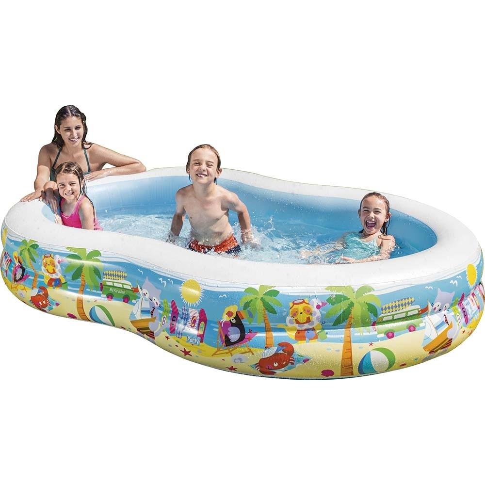 Φουσκωτή παιδική πισίνα 260 x 160cm Intex Paradise Lagoon 56490