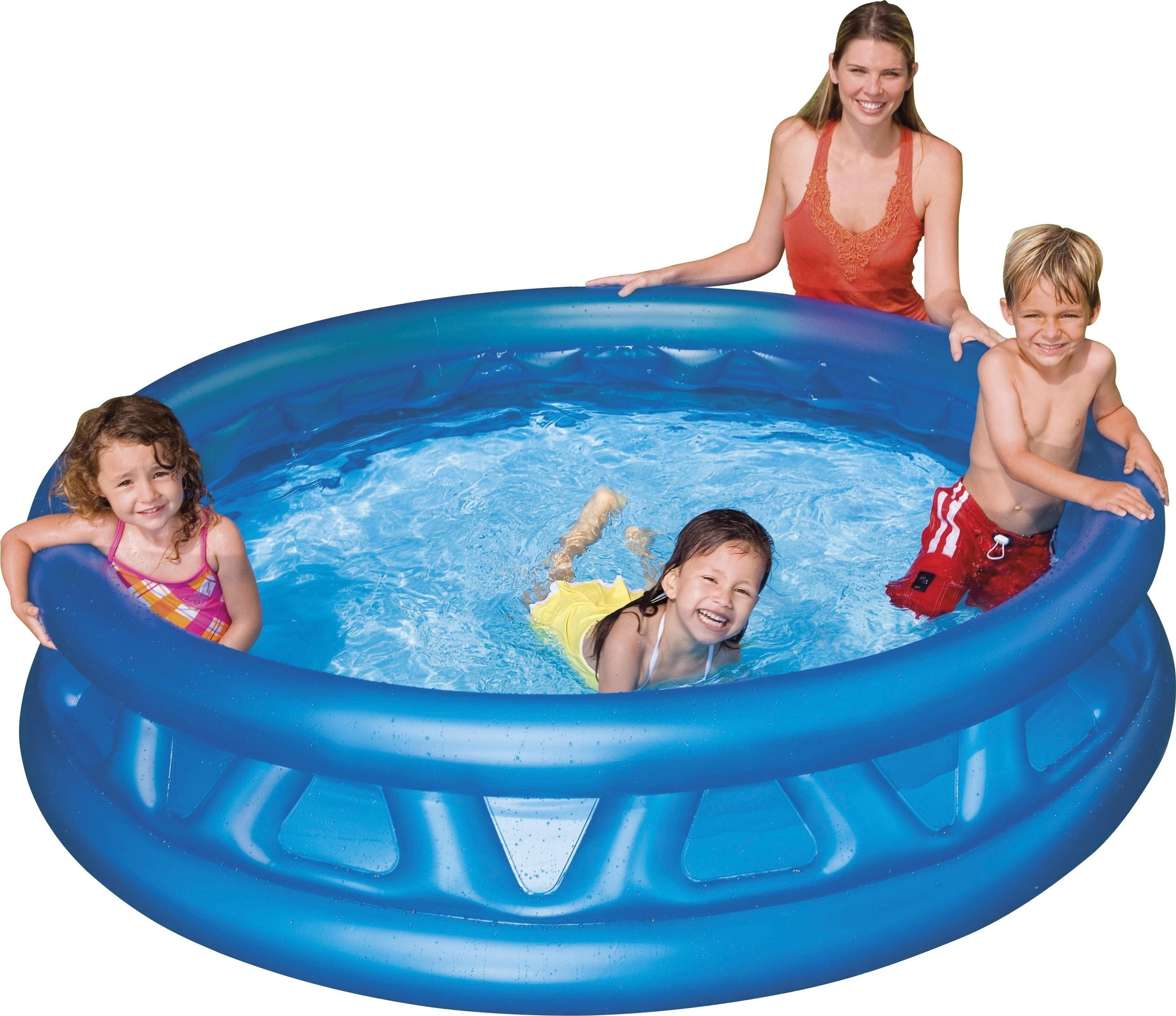 Φουσκωτή παιδική πισίνα Ø188cm  Intex Soft Side 58431