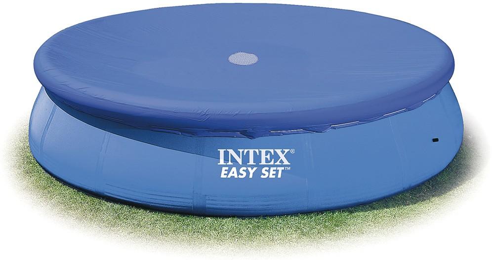 Προστατευτικό κάλυμμα πισίνας Intex Easy set pool cover Ø457cm