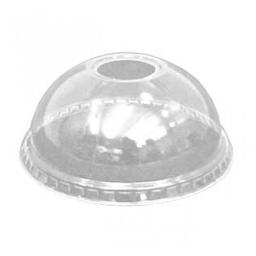 Πλαστικό καπάκι PET Μπομπέ για ποτήρια 09-12-16-20oz