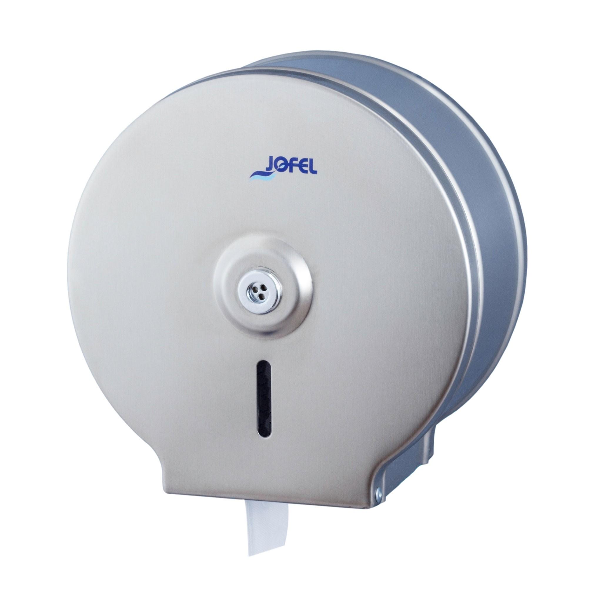 Μεταλλική θήκη χαρτιού υγείας Jofel Clasica Satin Inox AE23000