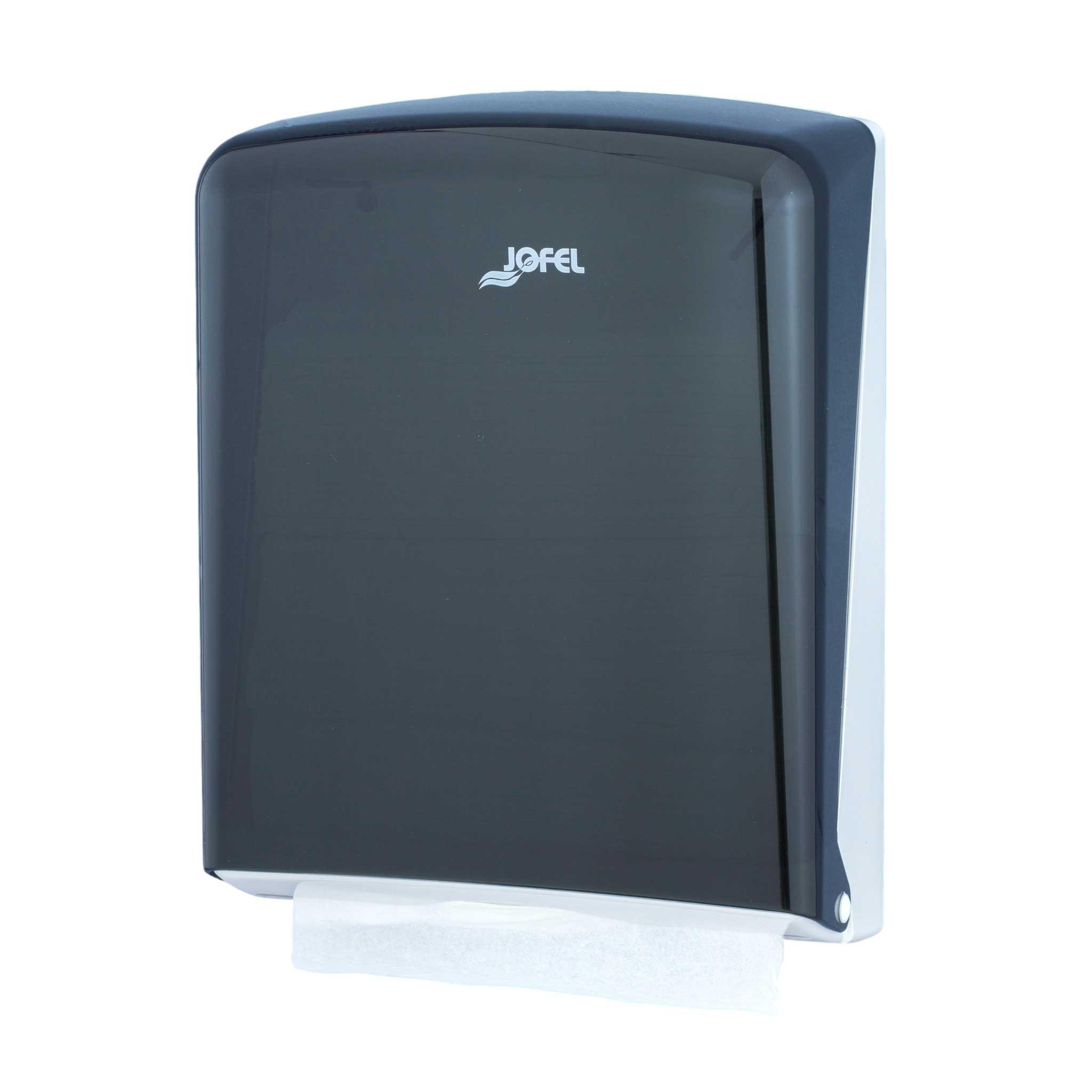 Πλαστική θήκη χειροπετσέτας ΖικΖακ Jofel Azur black AH34400
