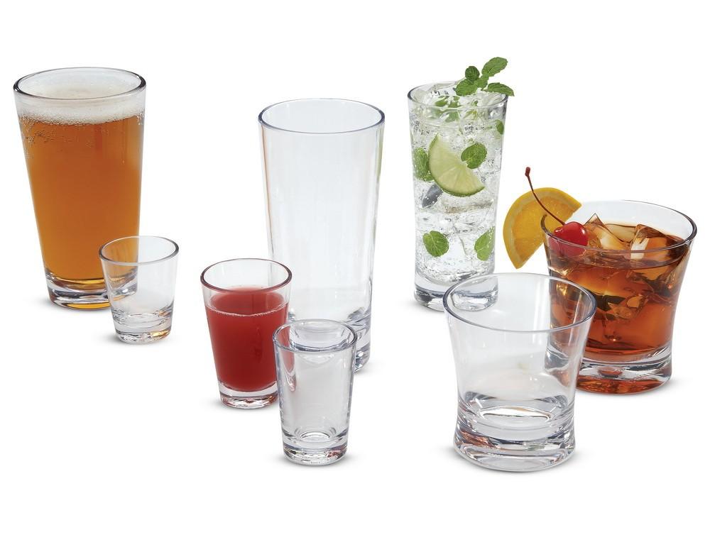 Πλαστικά ποτήρια Carlisle σειρά Alibi