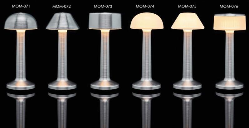Επιτραπέζιο φωτιστικό RGB LED υψηλής αισθητικής Imagilights Moments Aluminum
