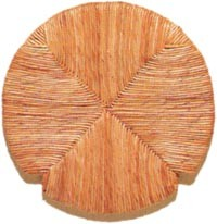 Στρογγυλό τελάρο Φυσικής ψάθας 604 - Διαμέτρου Ø36cm