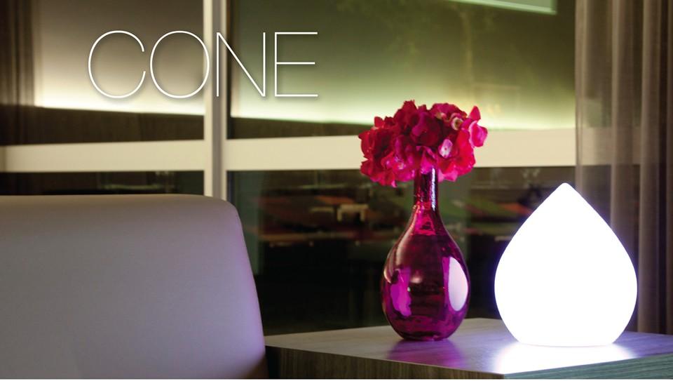 Φωτιζόμενο διακοσμητικό LED Imagilights Cone Ø28,5cm