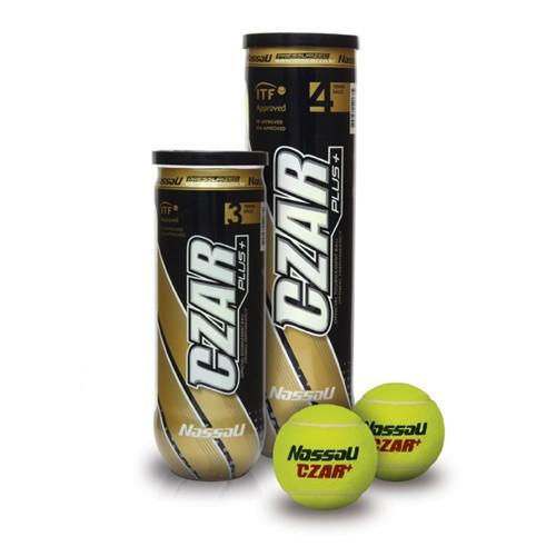 Μπαλάκια τένις κονσέρβα Nassau Czar Plus 3τεμ