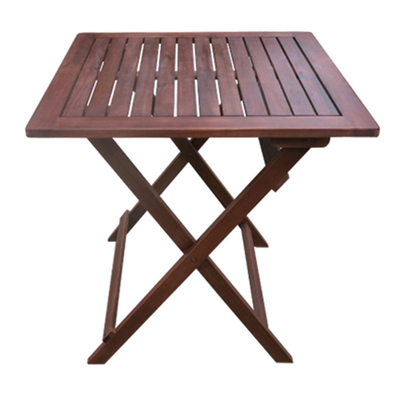 Τραπέζι κήπου πτυσσόμενο Easy 70x70cm