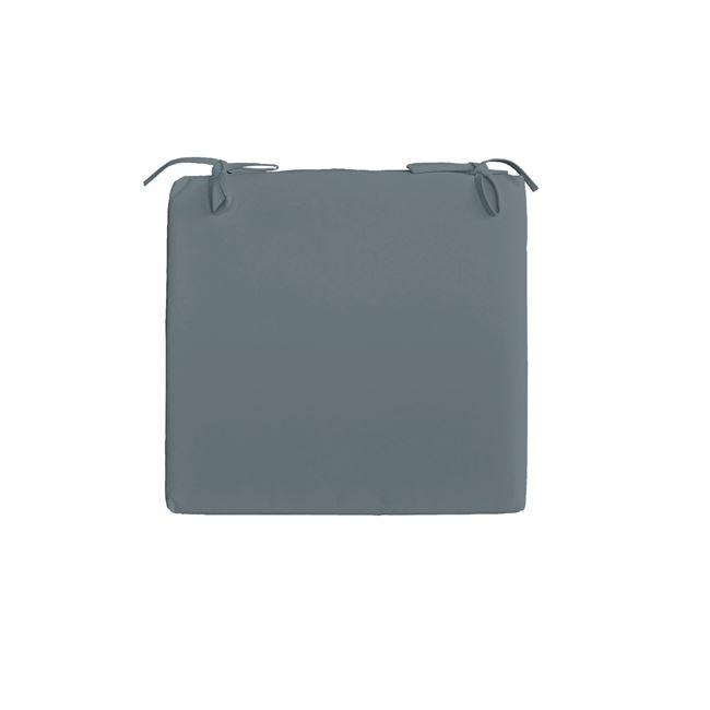 Μαξιλάρι Seat για κάθισμα 45x45cm σε χρώμα Γκρι