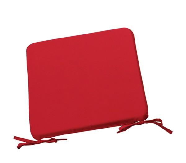 Μαξιλάρι Chair για κάθισμα 42x42cm σε χρώμα Κόκκινο