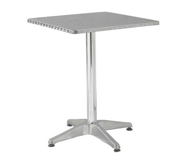 Τραπέζι αλουμινίου Palma Τετράγωνο 60x60cm