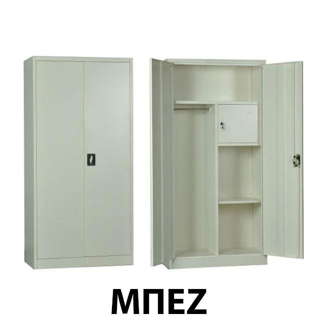 Μεταλλικό ντουλάπι Ντουλάπα ρούχων με έξτρα κλειδαριά εσωτερικά 90εκ - Μπεζ
