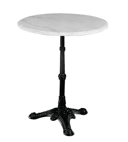 Τραπέζι με Μάρμαρο Στρογγυλό Παραδοσιακό Ø60