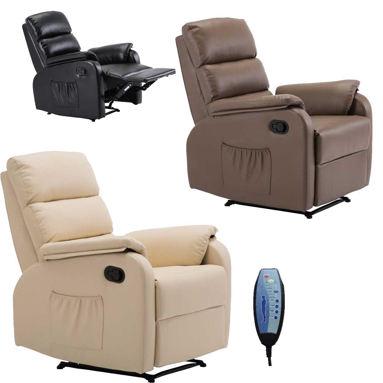 Πολυθρόνα Relax με μασάζ COMFORT Ε9733 - σε 3 χρώματα