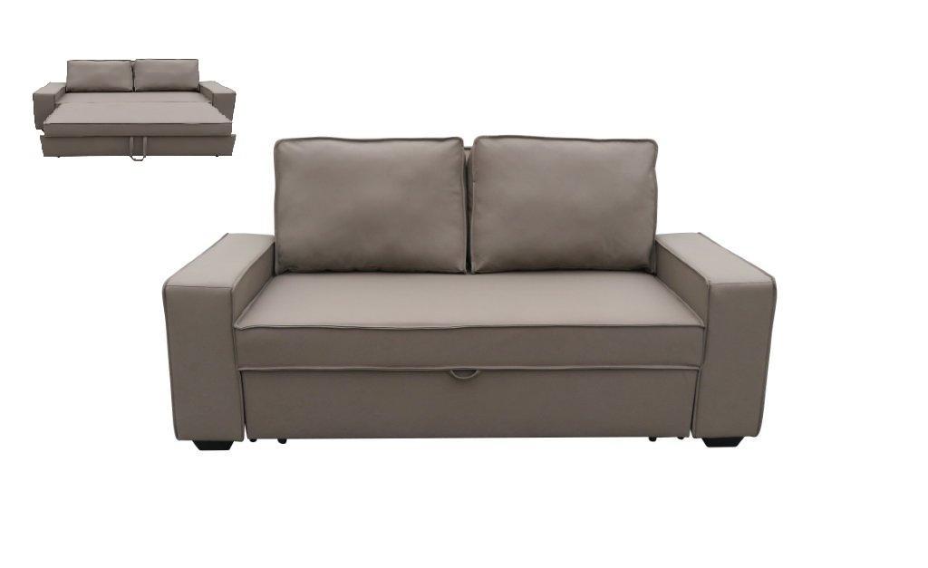 Καναπές κρεβάτι Alison mocha