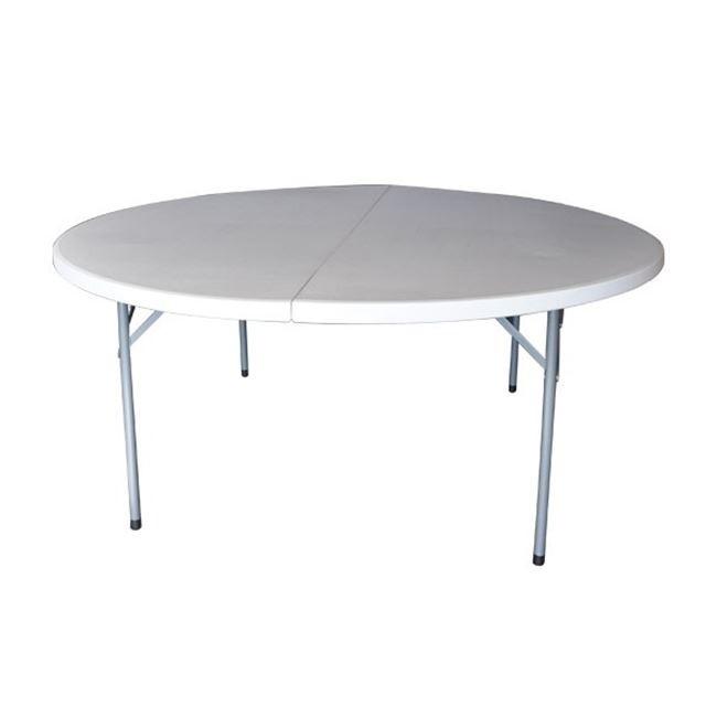 Πτυσσόμενο τραπέζι βαλίτσα Zita Catering fold Ø181cm
