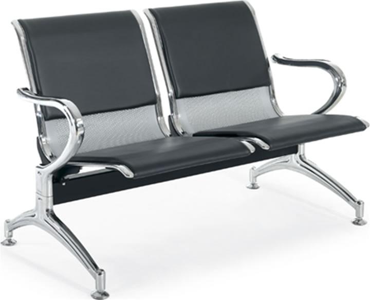Κάθισμα αναμονής 2 ατόμων με PVC Best S02S