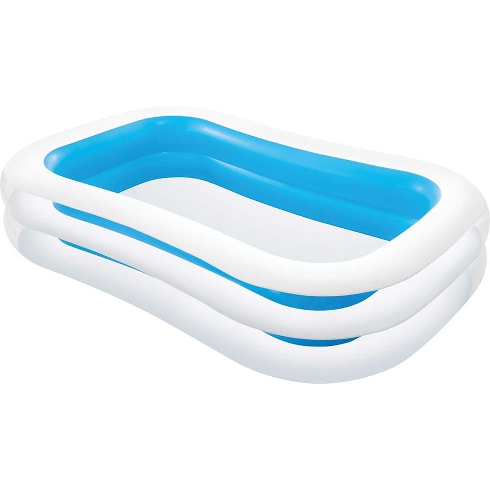 Φουσκωτή παιδική πισίνα 260x175cm Intex Family Swim Center 56483