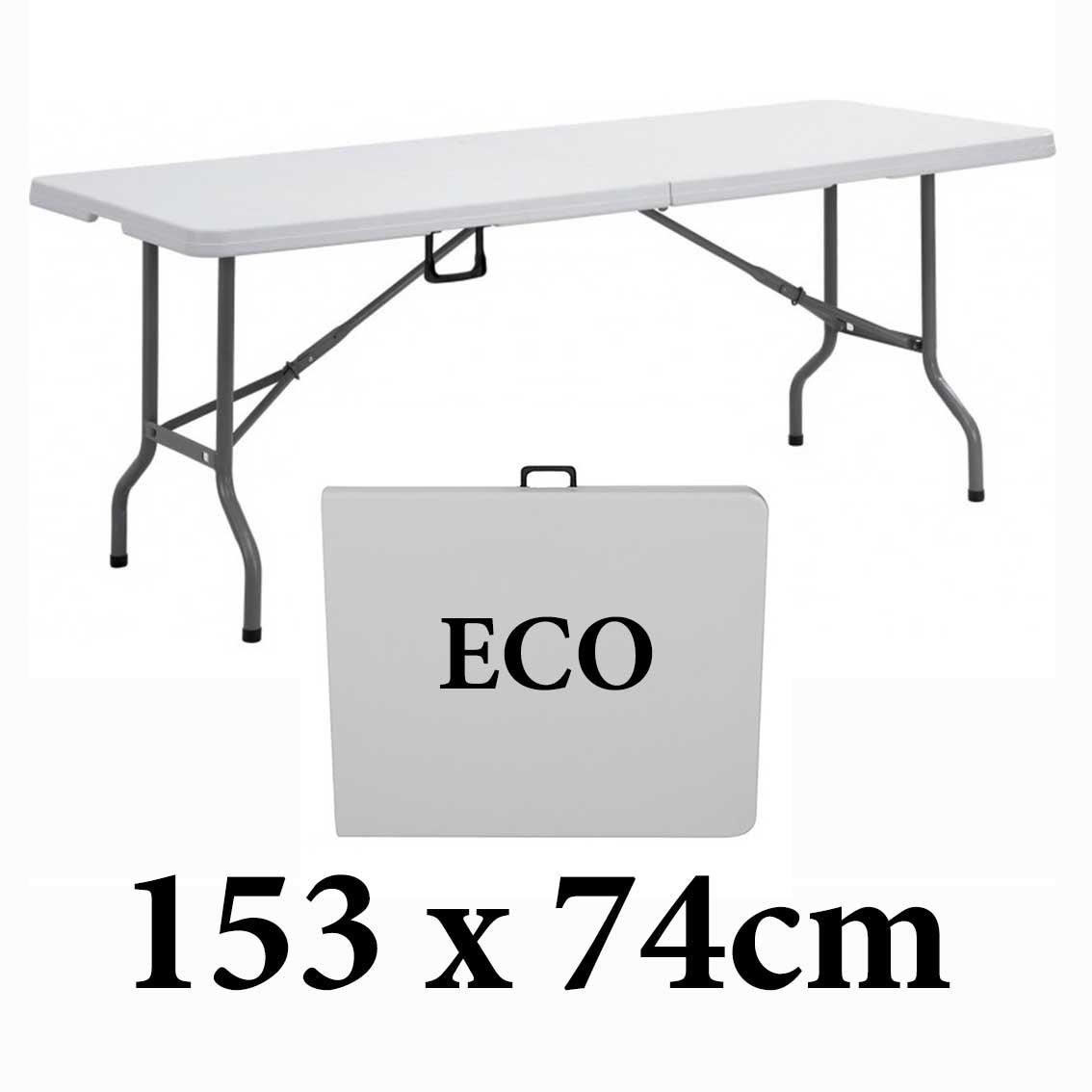 Πτυσσόμενο τραπέζι βαλίτσα Milano 153