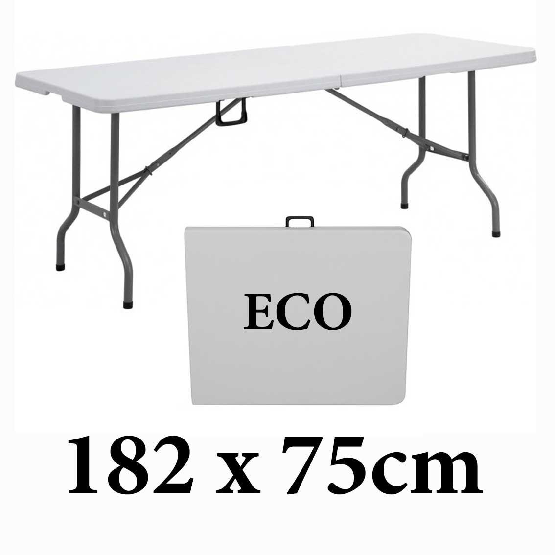 Πτυσσόμενο τραπέζι βαλίτσα Milano ECO 182