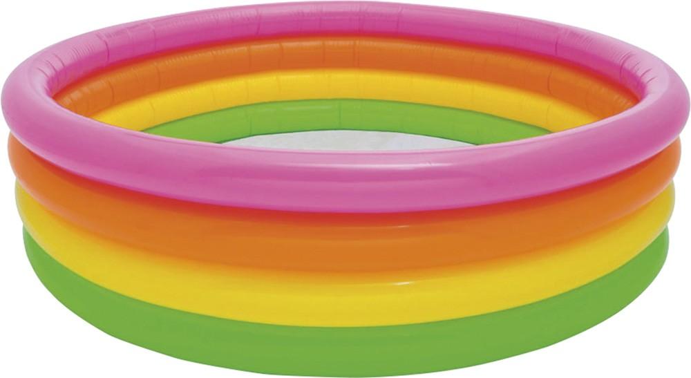 Φουσκωτή παιδική πισίνα Ø168cm Intex Sunset Glow 56441