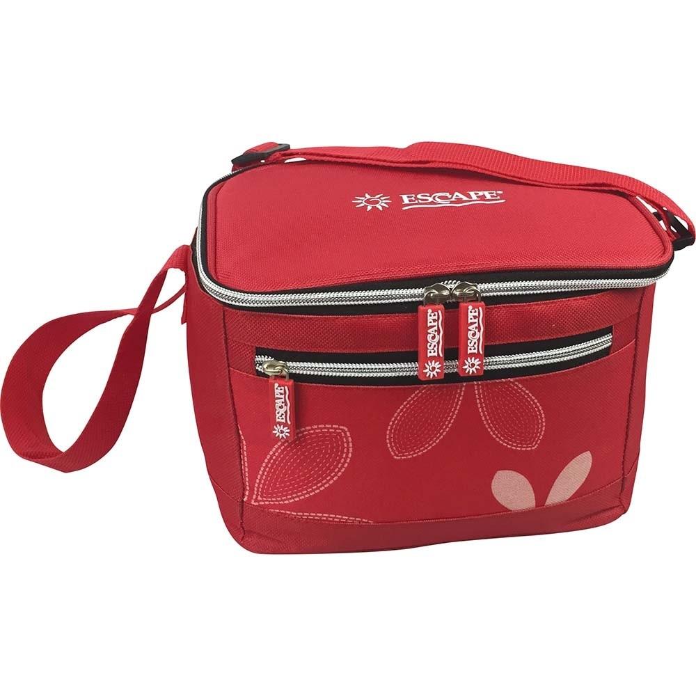 Υφασμάτινη τσάντα ψυγείο 5lt κόκκινο