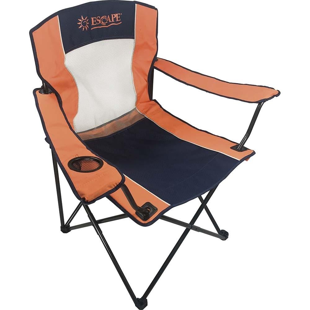 Πτυσσόμενη καρέκλα camping αντοχής 110kg 15656