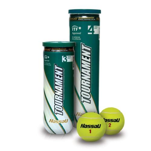 Μπαλάκια τένις κονσέρβα Nassau Tournament 3τεμ