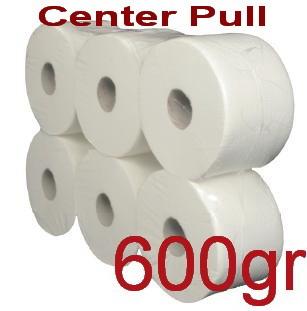 Χαρτί υγείας Center pull 600gr 6 ρολά Κωδ.905