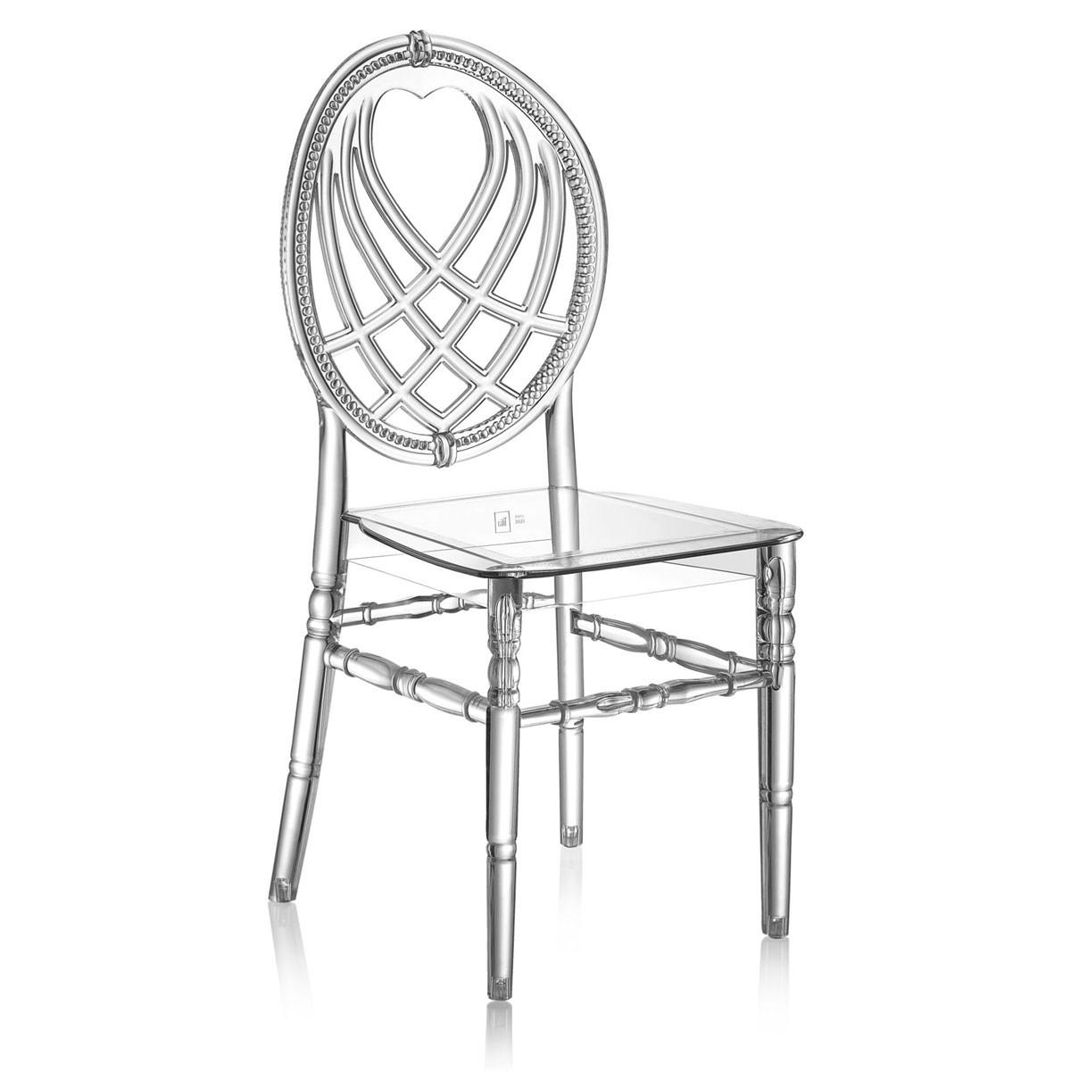 Καρέκλα για δεξιώσεις και γάμους Tilia Oxo PC Διάφανη
