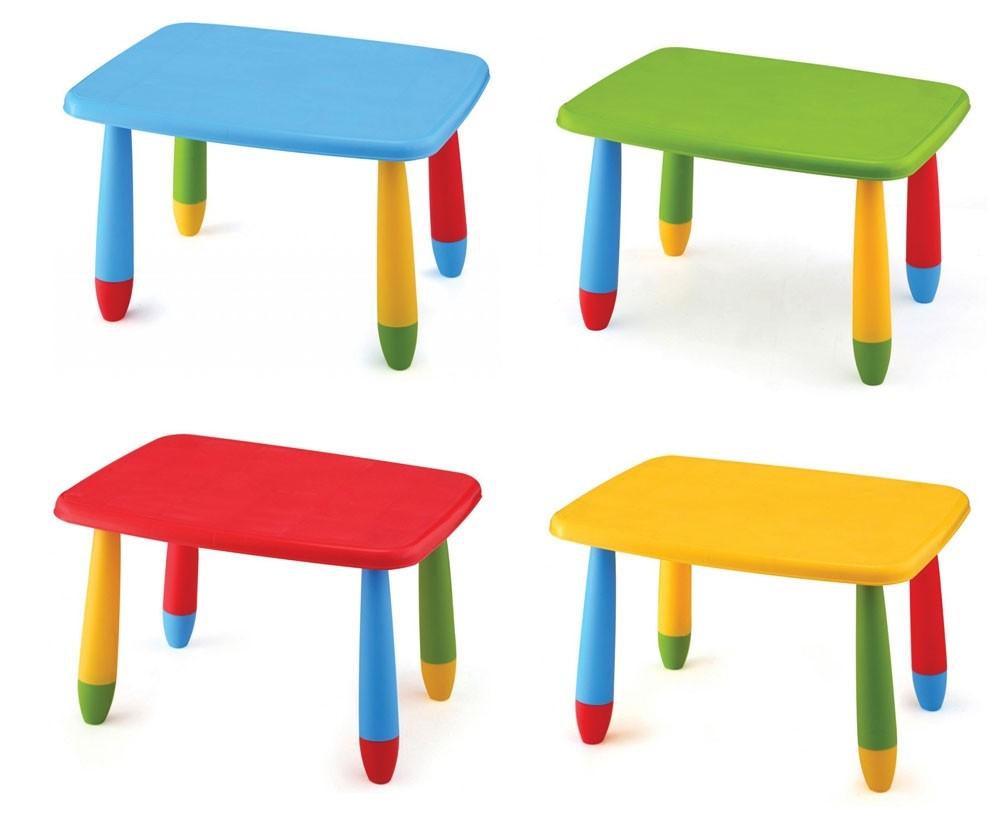 Παιδικό τραπέζι Kids Rectangular Table 72,5x57cm σε 4 χρώματα