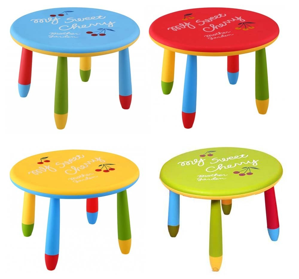 Παιδικό τραπέζι Kids Round Table Ø70cm - σε 4 χρώματα