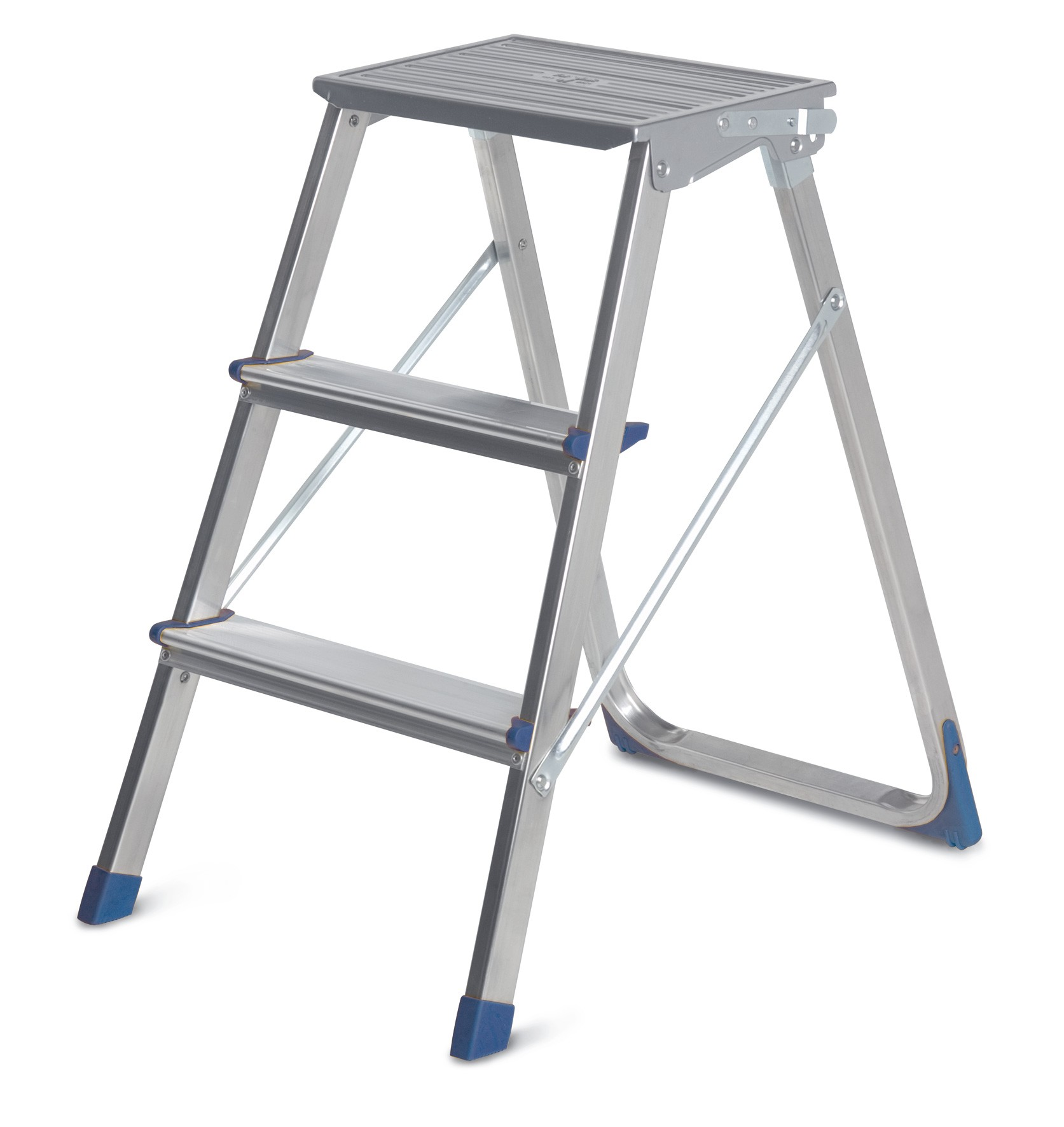 Σκάλα αλουμινίου Framar Piuma 133 με 2+1 σκαλιά