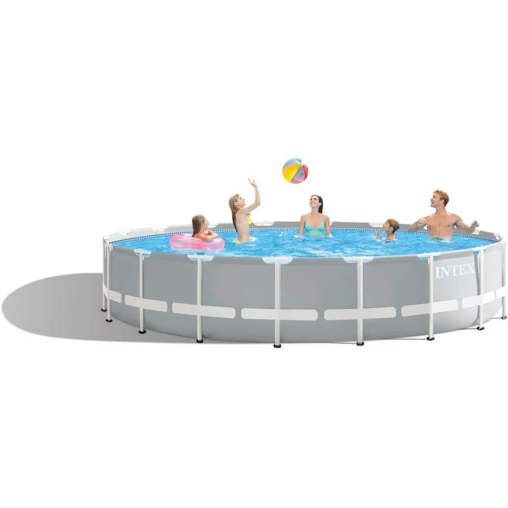 Πισίνα επιφανείας με μεταλλικό σκελετό Ø549 Intex Metal frame 26732