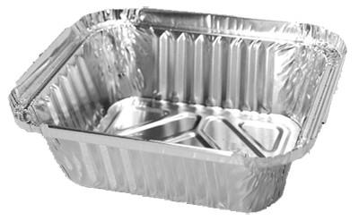 Σκεύη αλουμινίου μιας χρήσης Φαγητού Μικρό - 100τμχ