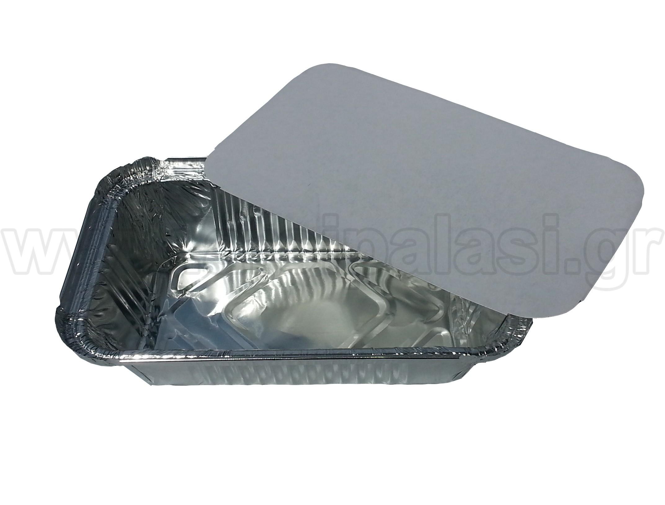 Σκεύη αλουμινίου μιας χρήσης Μακαρονάδας Μεσαίο - 100τμχ
