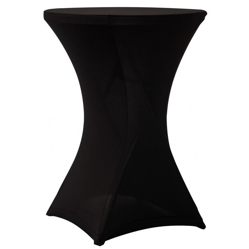 Υφασμάτινο ελαστικό κάλυμμα Stretch για Cocktail Bar 80 Black