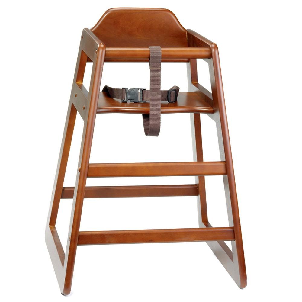 Ξύλινο παιδικό κάθισμα εστιατοριού Tablecraft walnut