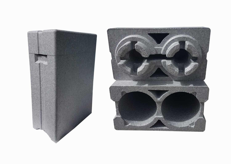 Κουτί από φελιζόλ (Διογκωμένη Πολυστερίνη) για την μεταφορά δύο γυάλινων μπουκαλιών